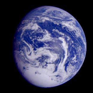 Expanding Earth FAQ - Recent satellite images of earth